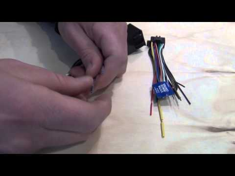 WIRING HARNESS ADAPTER FOR INSTALLATION OF AFTERMARKET STEREO