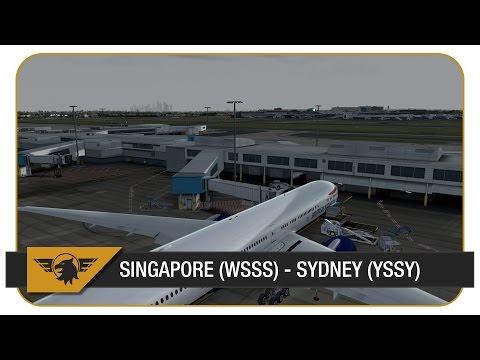 [Prepar3D] BAW15, Part 2 | Singapore (WSSS) - Sydney (YSSY) | PMDG 777 | NEW FLYTAMPA SYDNEY SCENERY