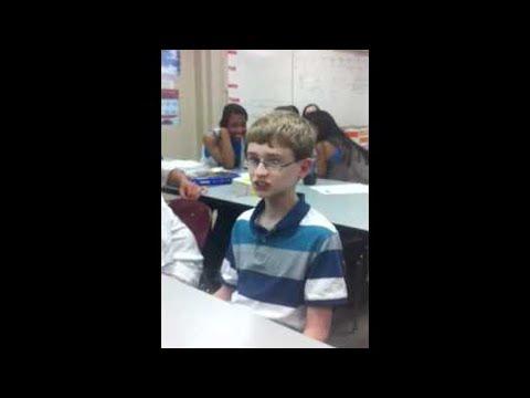shy boy drops sick beatbox in school..