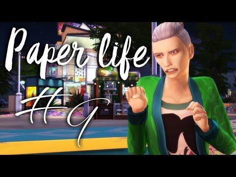 The Sims 4: Бумажная жизнь || #9 - Самые богатые бомжи