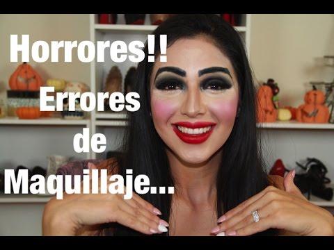 Errores de maquillaje (no lo hagas) Parodia Ft.