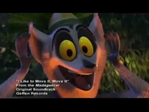 Madagascar - I Like To Move It (eu Portuguese) video
