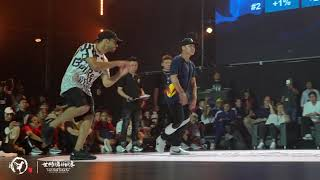 Lil G vs Iseei | Semi-Finals | Bboy | 2019 WDSF World Breaking Championships