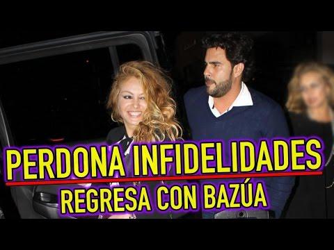 Paulina Rubio PERDONA INFIDELIDADES de Gerardo Bazúa