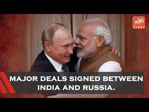 India And Russia Have  Signed Major Deals | Narendra Modi | China | Moscow | YOYO Times