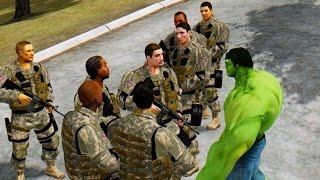 USA Army vs The Incredible Hulk - Epic Battle