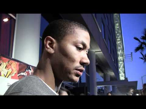 NBA Star Derrick Rose On Team USA, LeBron James and The Bulls