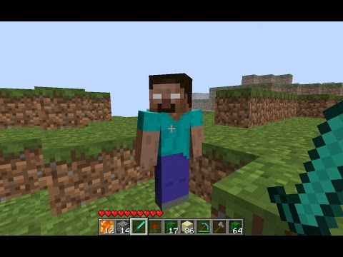How To Spawn Herobrine In Minecraft Pocket Edition!