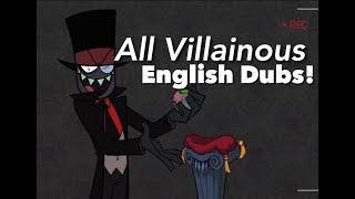All Villainous Official English Dubs! (Now with Subtitles)