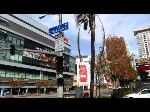 Walking tour Downtown Los Angeles, California