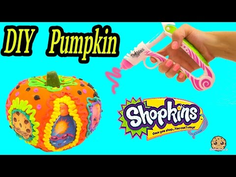 Shopkins Limited Edition Inspired Pumpkin, Playdoh DohVinci DIY Play Doh Vinci Craft Cookieswirlc
