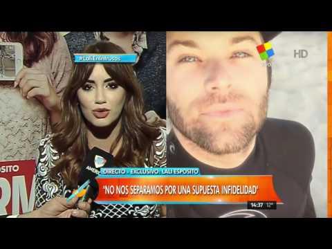 Lali Espósito habló de su enojo con Mariano Martínez