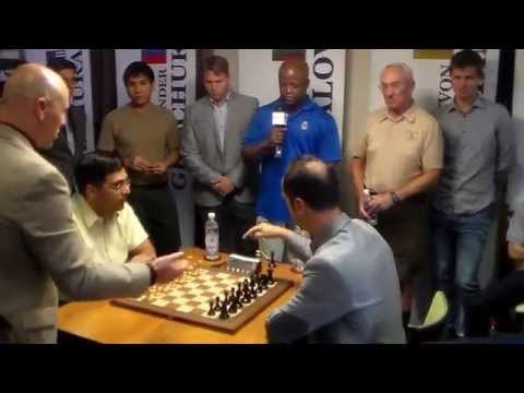 Viswanathan Anand vs Veselin Topalov: Sinquefield Chess Cup Ultimate Moves Live 2015