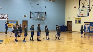 Triton 6th Grade Girls Basketball vs. LaVille - Full Game