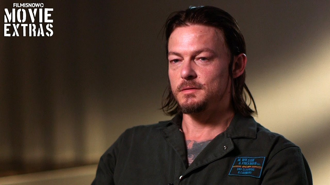 Triple 9 (2016) Behind The Scenes Movie Interview - Norman Reedus