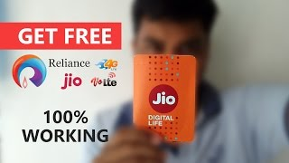 How To Get Free Reliance Jio 4G SIM With 3 Month Free Data any Android Mobile (Read Description)👍