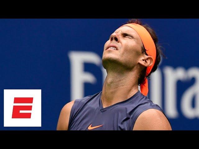 2018 US Open highlights: Rafael Nadal retires in third set vs Juan Martin del Potro   ESPN
