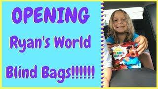 Opening Ryan's World RyanToysReview New Blind Bags