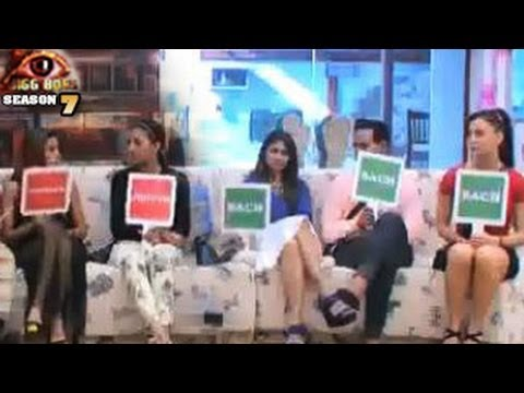Bigg Boss 7 SHADY SURPRISE TASK in Bigg Boss 7 8th November 2013 Day 54 FULL EPISODE