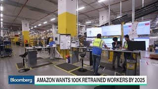 Amazon Spending $700 Million to Retrain Workers
