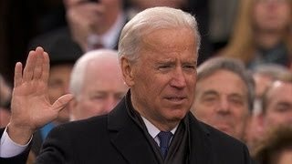 Vice President Bidens Swearing-In - Second Inauguration