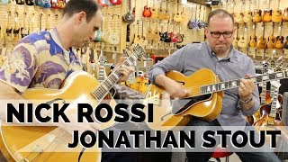 """Jonathan Stout & Nick Rossi """"Out Of Nowhere"""" 1941 Epiphone Emperor 