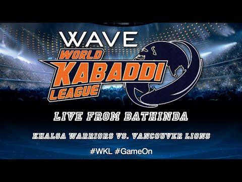 World Kabaddi League, Day 25: Khalsa Warriors Vs. Vancouver Lions