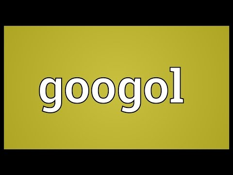 Header of googol