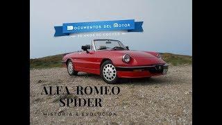 Alfa Romeo Spider (1/2)- Historia y evolución
