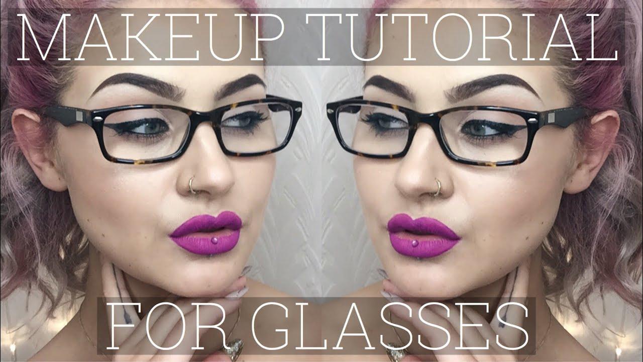 Eye makeup for glasses