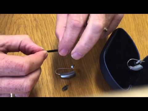 Changing the filter in your Blackberry Hearing Aid