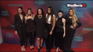 Ashley Benson, Shay Mitchell, Lucy Hale, Sasha Pieterse, Troian Bellisario at Freeform 2017 Upfront
