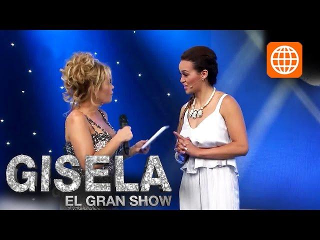 Gisela El Gran Show parte 1/8 transmitido el Sábado 15-11-2014