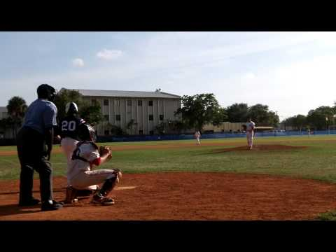 Davis Fouts - Pitching Coral Springs Christian Academy