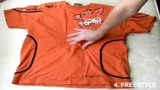 Metody na składanie koszulki - How to fold T-Shirt