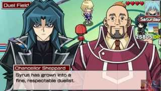 Yu Gi Oh GX Tag Force Three European Obelisk Blue Syrus Truesdale Story Finale in HD