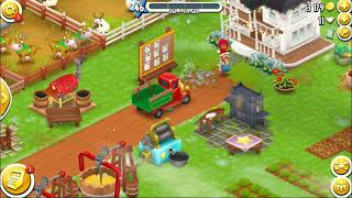 Hay Day level 45 reaching level 46