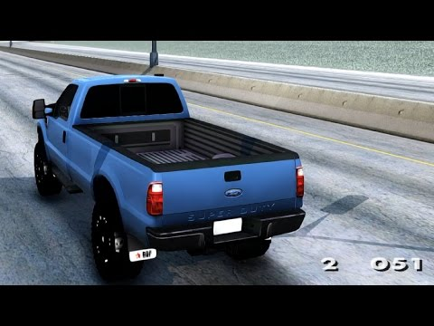 Ford F 250 Super Duty - GTA San Andreas