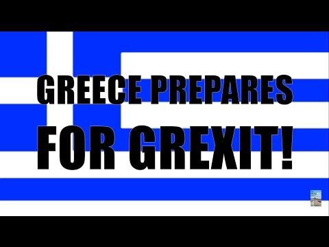 Greece Prepares RETURN to DRACHMA! Can't Pay IMF as China and Russia Bailout!