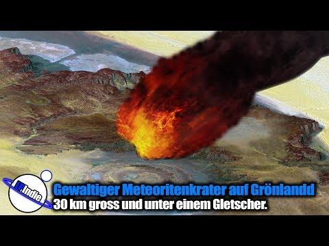 Gewaltiger Meteoritenkrater auf Grönland entdeckt