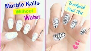 Stylesmallworld nail art designs diy tutorials viyoutube 2 marble nail art design without using water easy nail art for beginners toothpick prinsesfo Gallery