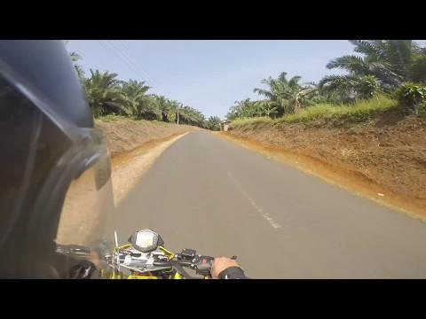 Test Jalur Cikidang Jawa Barat dengan KTM Duke 390