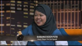 Rahmawati Kekeyi, BEAUTY VLOGGER Fenomenal | HITAM PUTIH (07/11/18) Part 1  from TRANS7 OFFICIAL