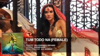 'Tum Todo Na Female' FULL AUDIO Song 'I'   Aascar Films   A  R  Rahman   Shankar, Chiyaan Vikram