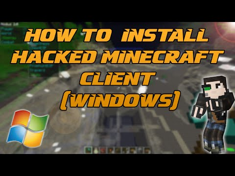 Minecraft 1.7.2 - 1.8.1: How to install Nodus hacked client (Windows)