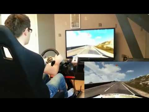 AWESOME - Game Seat - G27 - Gameplay WRC 4 (Playseat fr)