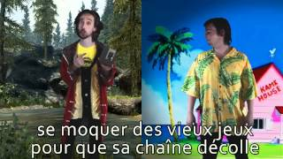 Bob Lennon vs Joueur du grenier. Epic Rap Battle of the Internet