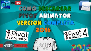 Como descargar Pivot animator para Pc 2016