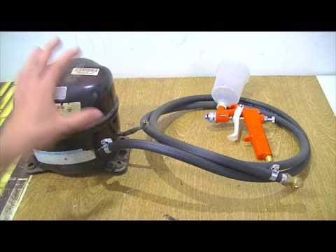 Como Fazer # Compressor de ar (PINTURA,ENCHER PNEUS,BALÕES, BEXIGAS) thumbnail