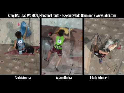 Kranj climbing WC 2009 Mens finals